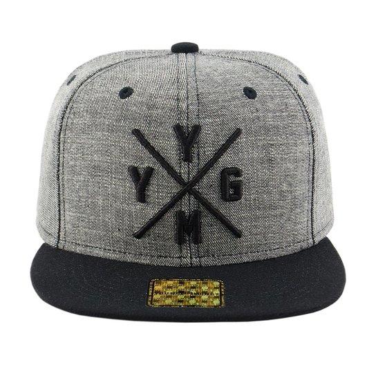 Boné Aba Reta Young Money Snapback YGMY Jeans - Compre Agora  50a6910b625