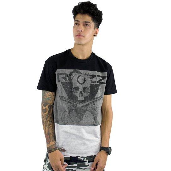 be49e92b23e52 Camiseta Rozz Especial Skull Guns - Compre Agora