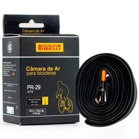 839862802 Câmara De Ar Bicicleta 29 Pirelli Butyl Presta - Preto - Compre ...