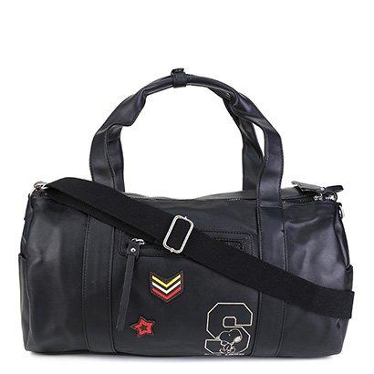 Bolsa Snoopy Barrel Bag Grande Feminina
