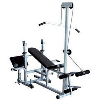 Banco de Supino 367 Estação de musculação aparelho ginastica - WCT Fitness a48dc4b463cbd