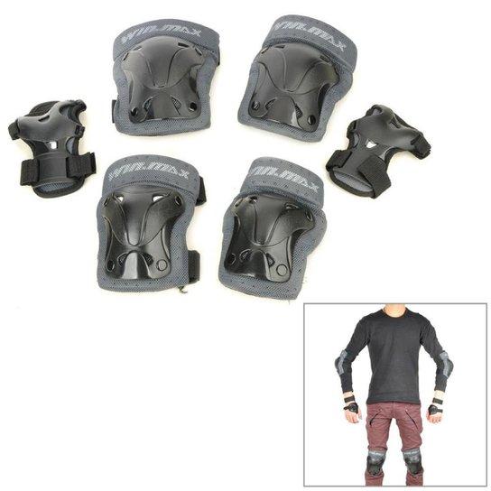 cc1ac0abc Kit Protetores Skate e Patins Profissional Ahead SportsWinmax WME05718 -  Preto