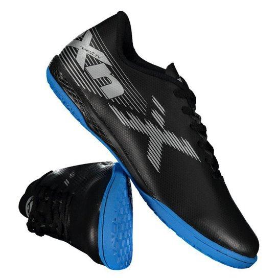 Chuteira Futsal Oxn Velox 2 Masculina - Preto - Compre Agora  d2cd52fa17c62