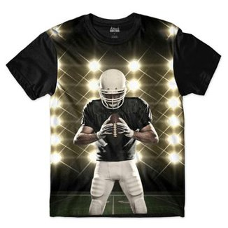 Camiseta Attack Life Futebol Americano Defensor Sublimada Masculina