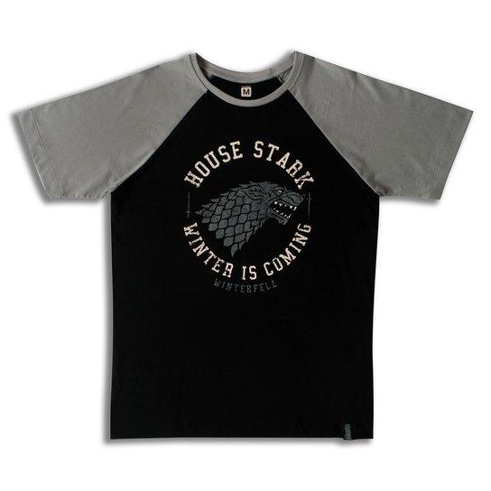 b0d690238 Camiseta Game of Thrones House Stark Winterfell - Compre Agora ...