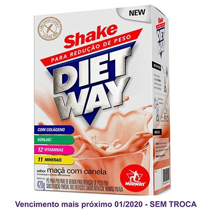 Diet Way Shake Substituto de Refeição 420 G
