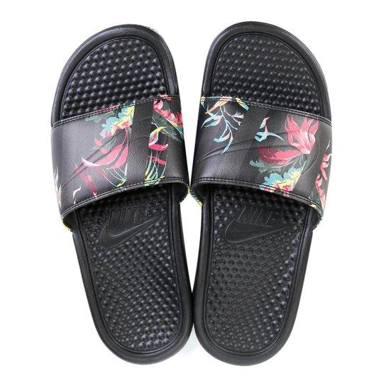 4bbdd408d6e694 Chinelo Nike Benassi Jdi Print Masculino - Floral | Netshoes