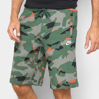 fe9dff43170b3 Bermuda Nike Estampa Camuflada Club Camo Short BB Masculina