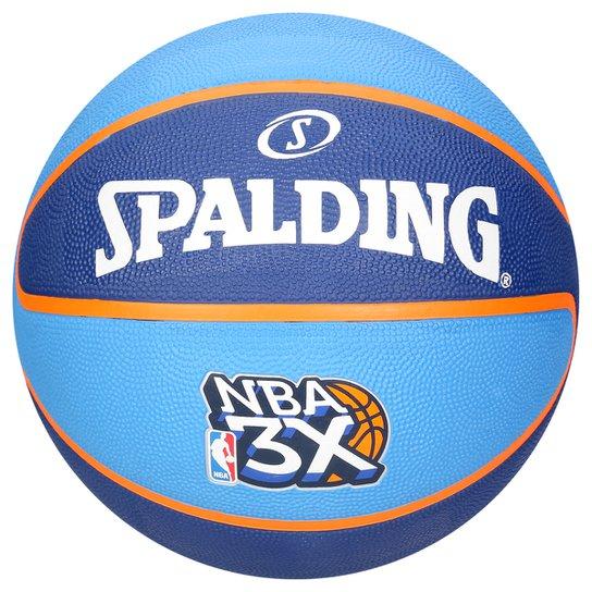7d1a9285be Bola Basquete Spalding NBA 3XSZ7 - Azul e Azul claro - Compre Agora ...