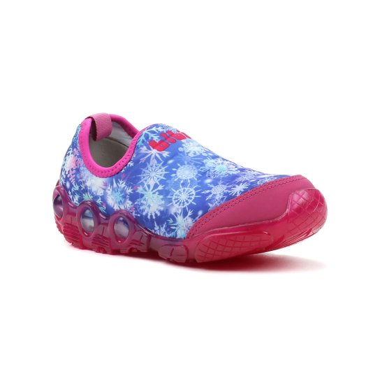 bf53bf4459 Tênis Infantil Para Menina Bibi Space Wave Azul rosa - Azul - Compre ...