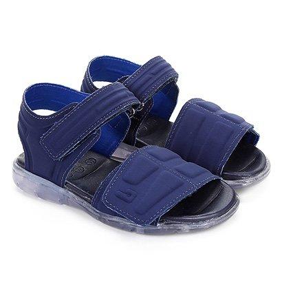 Sandália Papete Infantil Bibi Velcro Masculina