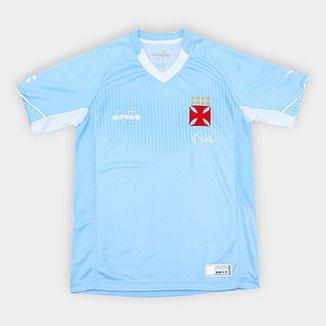 Camisa de Goleiro Vasco Infantil I 2018 s n° Torcedor Diadora f34774bdda534