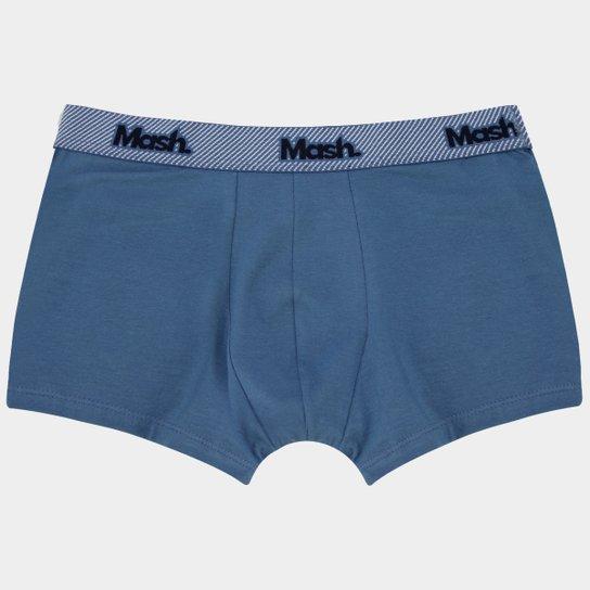 4377b9b73743c5 Cueca Boxer Mash Cotton - Azul