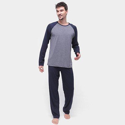 Pijama Mash Longo Masculino