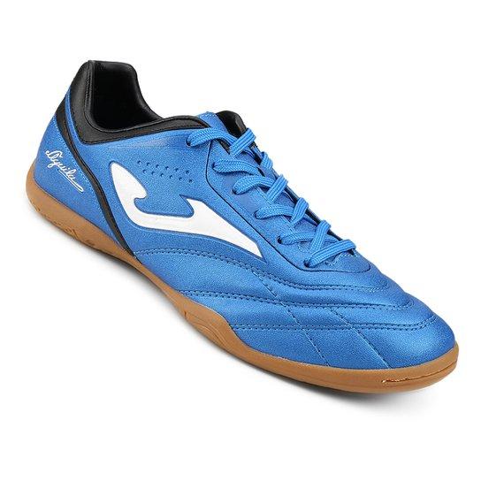 6840db22d5 Chuteira Futsal Joma Aguila - Azul - Compre Agora