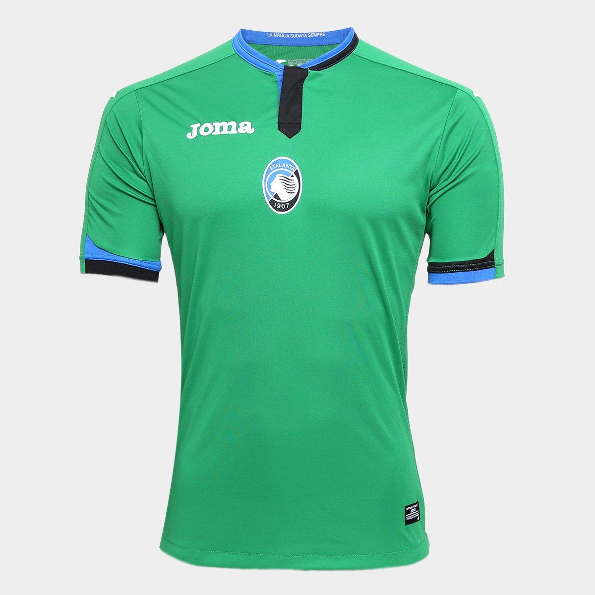 Camisa Atalanta Third 17 18 s n°- Torcedor Joma Masculina eddac31adae25