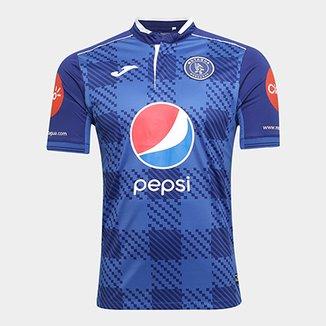 Camisa Club Deportivo Motagua Home 17 18 s n°- Torcedor Joma Masculina e4f8d755e79