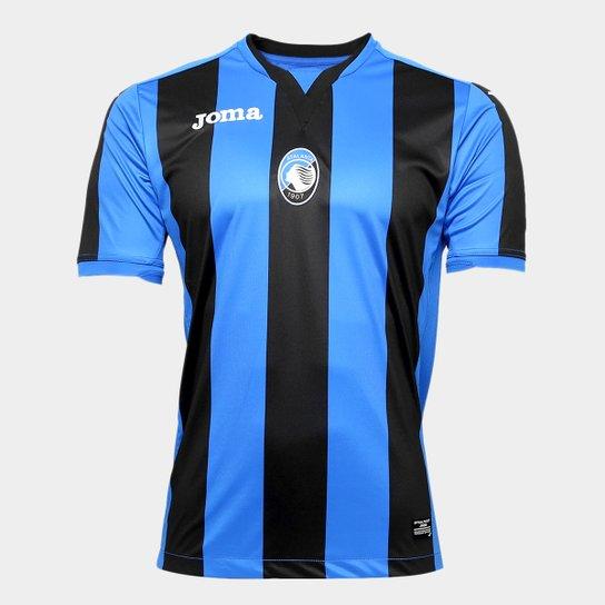 9f728a0f8e Camisa Atalanta Home 17 18 s n°- Torcedor Joma Masculina - Azul e ...