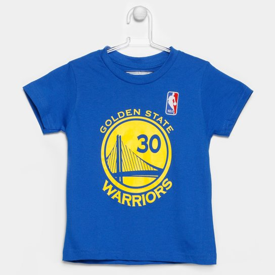 Camiseta NBA Golden State Warriors Curry 30 Infantil - Compre Agora ... 168f3272297