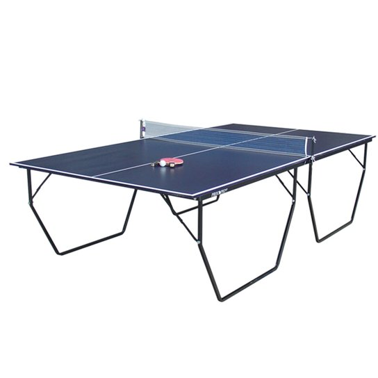 663ad0d08 Mesa de Ping Pong   Tênis de Mesa Procópio c  Rodas 15mm MDP - Azul ...