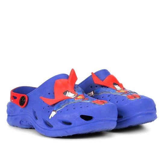 011b53baae9 Sandália Infantil Plugt Ventor Superman 3D Masculina - Compre Agora ...