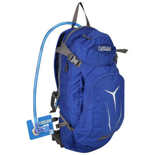ed8ede985 Mochila de Hidratação Camelbak M.U.L.E - 3,0 l - Azul Royal e Cinza ...
