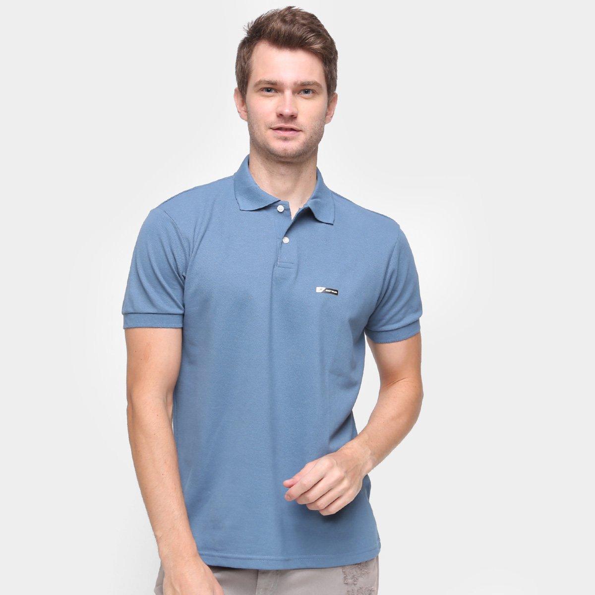 Camisa Polo Mormaii Logo Masculina