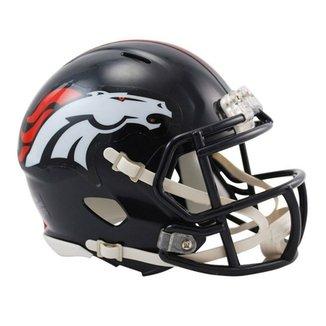 8e4affa2a Capacete Miniatura 1 4 Riddell Denver Broncos