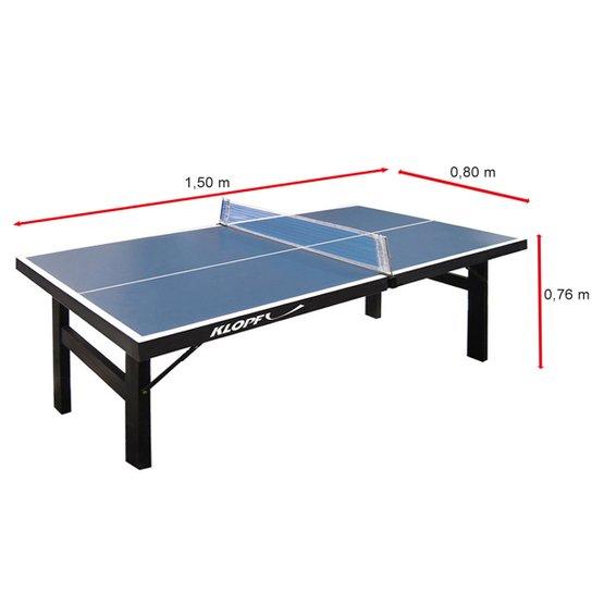 698a82321c892 Mini Tênis de Mesa   Ping Pong Klopf 12 mm - Azul - Compre Agora ...