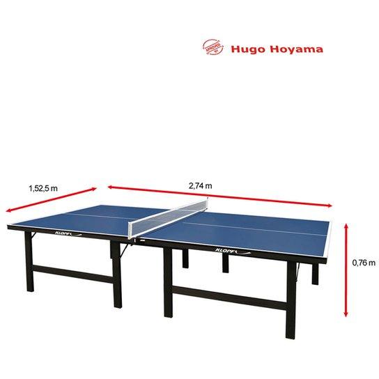 39f266a82 Mesa de Ping Pong   Tênis de Mesa Klopf MDF - 18 mm - Azul