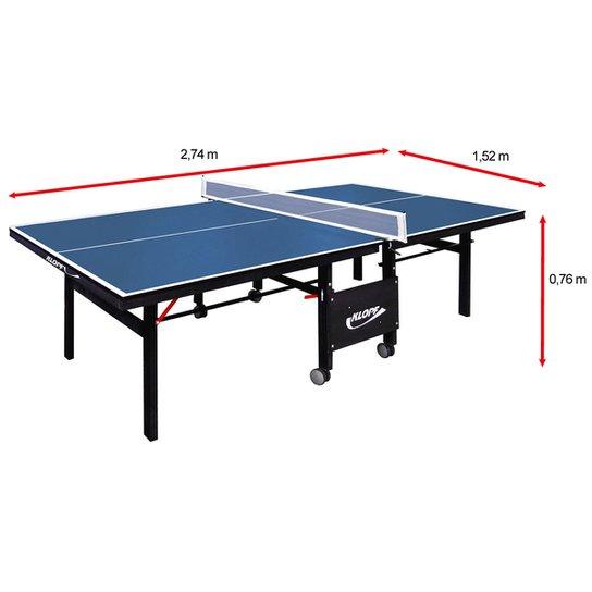 94d0d2b424d20 Mesa de Ping Pong   Tênis de Mesa Klopf - 18 mm - Azul - Compre ...