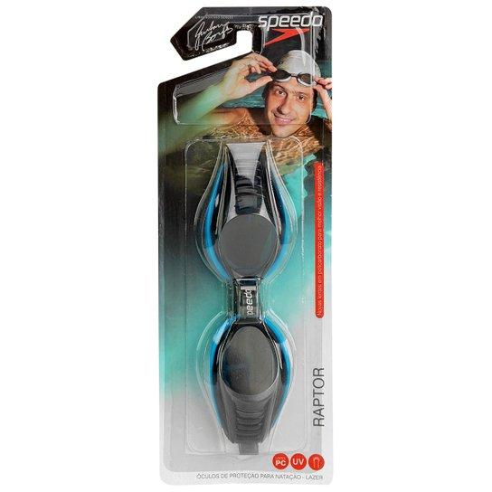 Óculos Speedo Raptor - Azul - Compre Agora   Netshoes 79dc8c3932