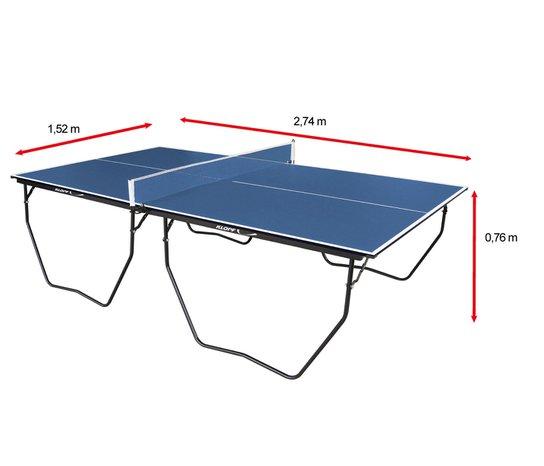2d4ab451a Mesa de Ping Pong   Tênis de Mesa Klopf c  Rodízio MDP - 15 mm ...
