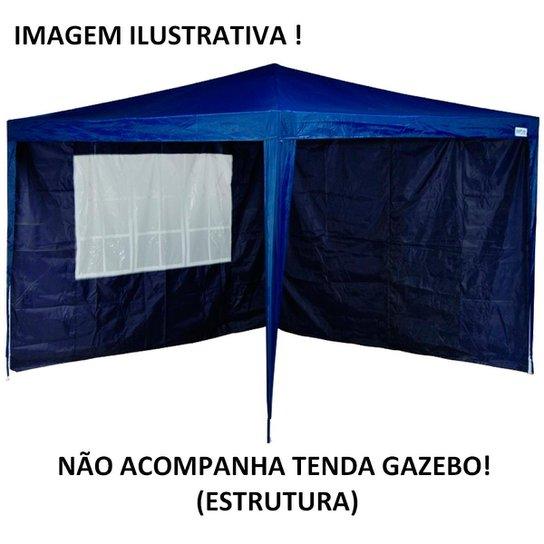 Kit 2 Paredes MOR para Tenda Gazebo - Azul - Compre Agora   Netshoes 2d844c9875