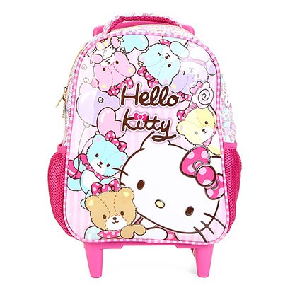 Mochila Infantil Escolar Xeryus Hello Kitty Tiny Bears