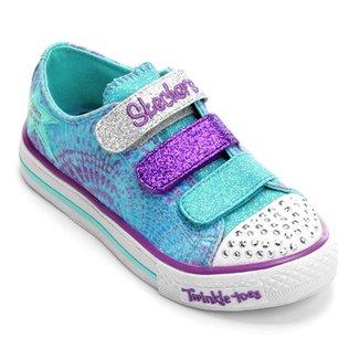 9128c241a3 Tênis Skechers Suffles Peace N Love Infantil