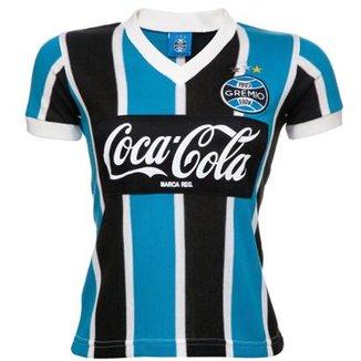 d5e304c6ddcd3 Camisa Retrô Grêmio 1989 Feminina