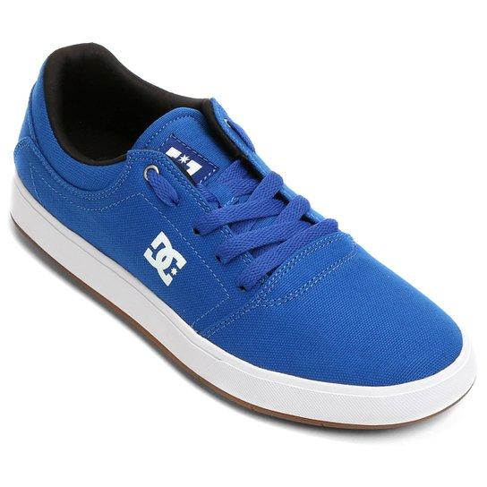 1de2dfd35 Tênis DC Shoes Crisis Tx M - Azul Royal+Branco