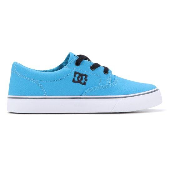 61906da2c1b8e Tênis Infantil DC Shoes Flash 2 Tx La Masculino - Azul - Compre ...