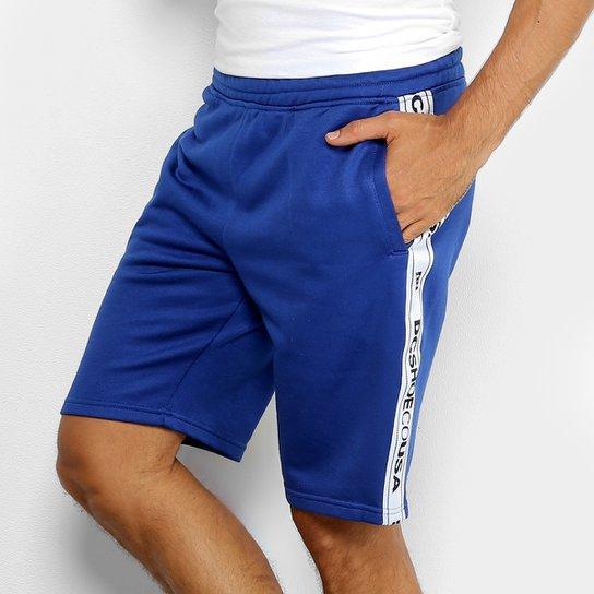 6fab6f7eb7283 Bermuda DC Shoes Heggerty Masculina - Azul - Compre Agora