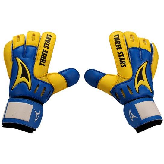 6c173b1ba3 Luva Three Stars Hexa - Azul e amarelo - Compre Agora