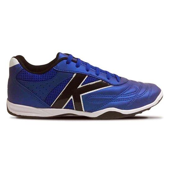 39f5d8dae6497 Chuteira Society Kelme Skill TF - Azul   Netshoes