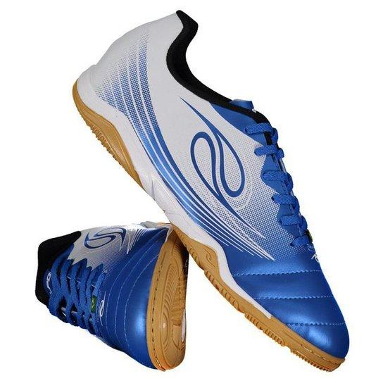 Chuteira Futsal Dalponte Squad Masculina - Azul - Compre Agora ... eb72256cf7007
