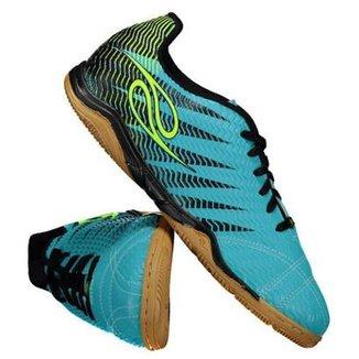 Chuteira Dalponte Wembley Futsal Turquesa b9466773f2599