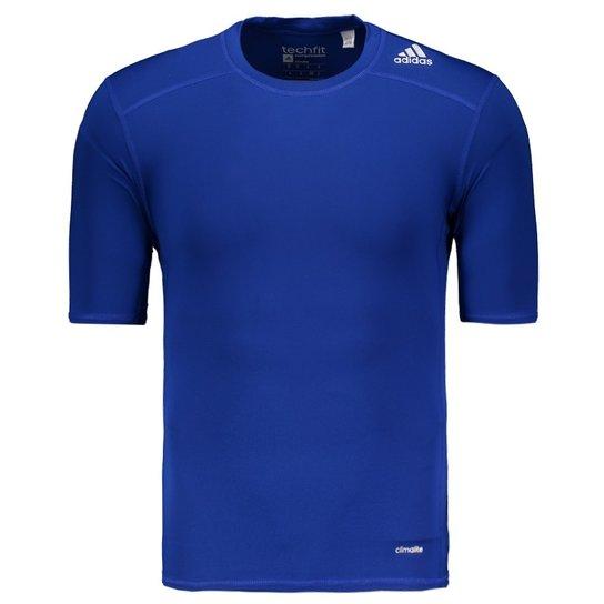 54a5a6646d Camisa de Compressão Adidas Techfit Base - Compre Agora