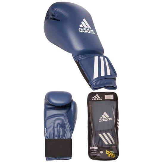 0380a1bd1 Luva Boxe Speed 50 Adidas - 12oz - Azul
