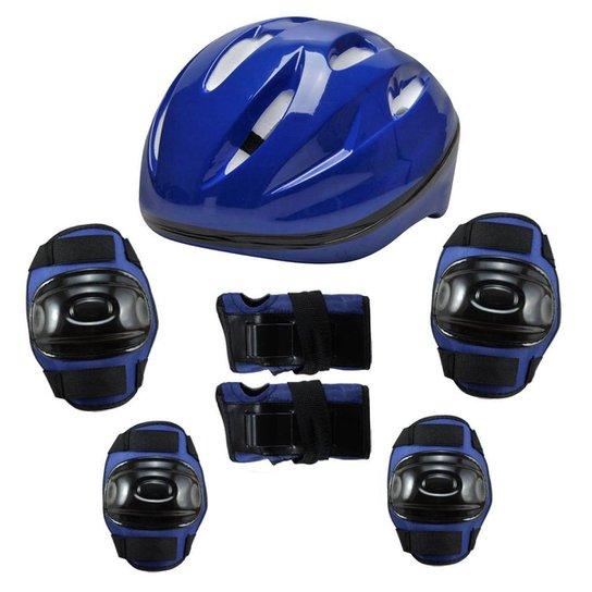 60b6c32e7 Kit de proteção Radical Com Capacete Bel Sports - Compre Agora ...