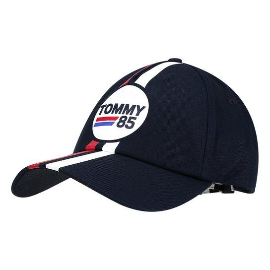 15ca028e65 Boné Tommy Hilfiger Aba Curva Stripe Masculino - Compre Agora