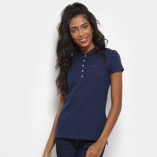 Camisa Polo Tommy Hilfiger Básica Feminina - Compre Agora  2d6a19f022939