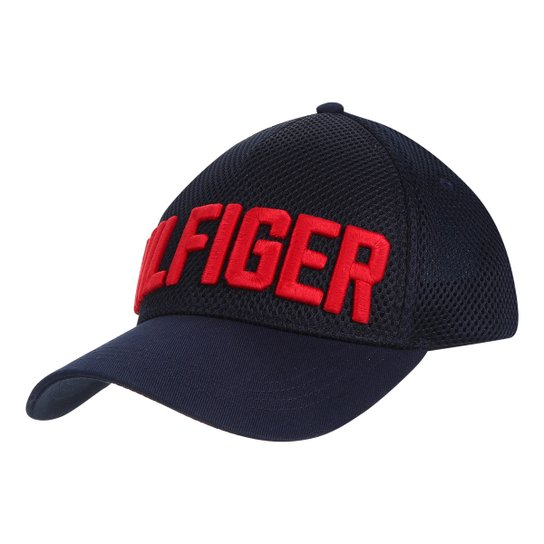 2f2401940d Boné Tommy Hilfiger Aba Curva Trucker Masculino - Compre Agora ...
